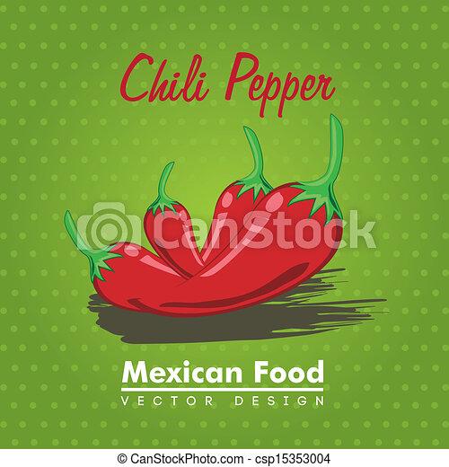 mexican food  - csp15353004