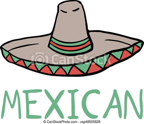 creative design of mexican hat