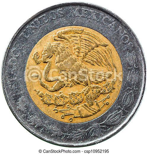 Mexican New Peso, 1 Peso 1992 - csp10952195