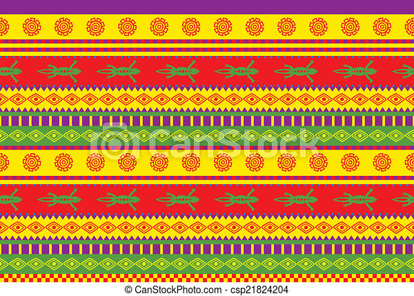 mexican pattern - csp21824204