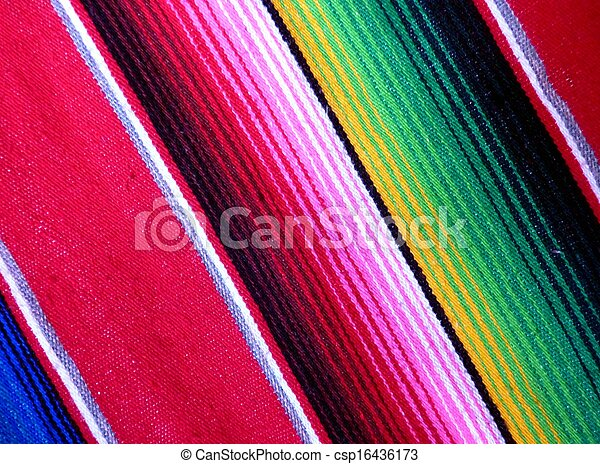 Mexican Poncho - csp16436173