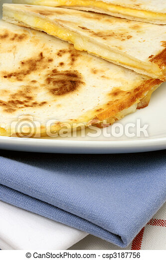 mexican quesadilla - csp3187756