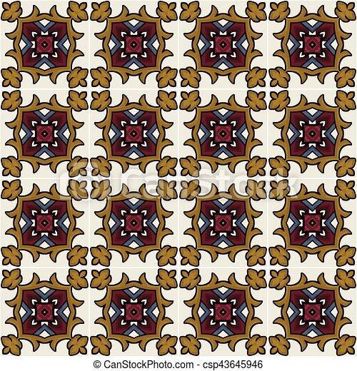 Mexican tiles - csp43645946
