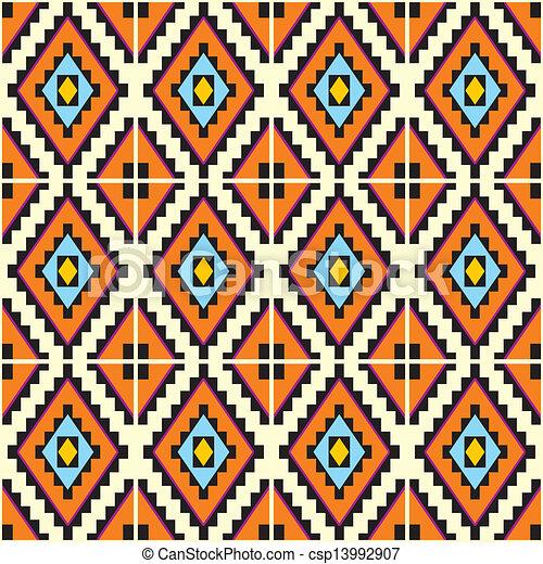 mexicano, seamless, fundo - csp13992907