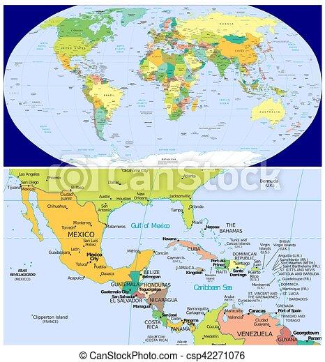 Mexico Caribbean and World