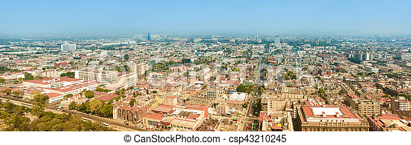 Mexico City Panorama - csp43210245