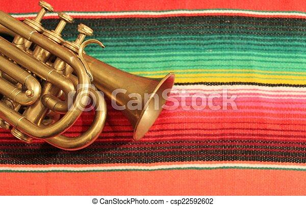 mexico fiesta background - csp22592602