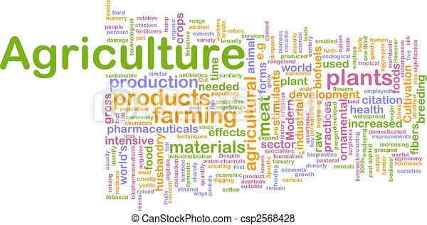 mezőgazdaság, szó, felhő - csp2568428