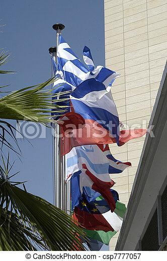 międzynarodowe bandery - csp7777057
