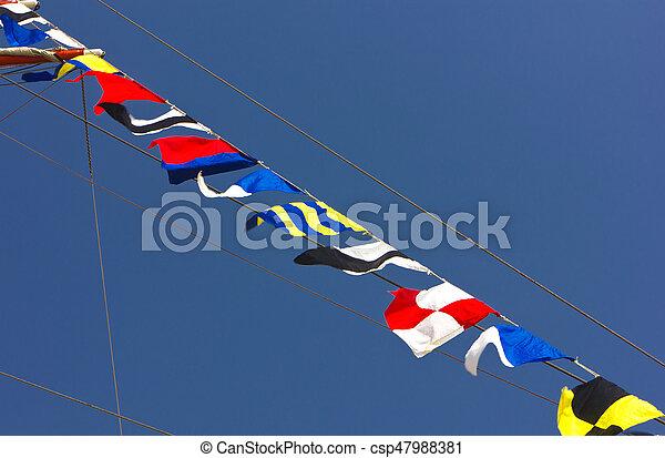 międzynarodowe bandery - csp47988381