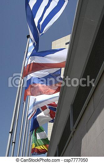międzynarodowe bandery - csp7777050