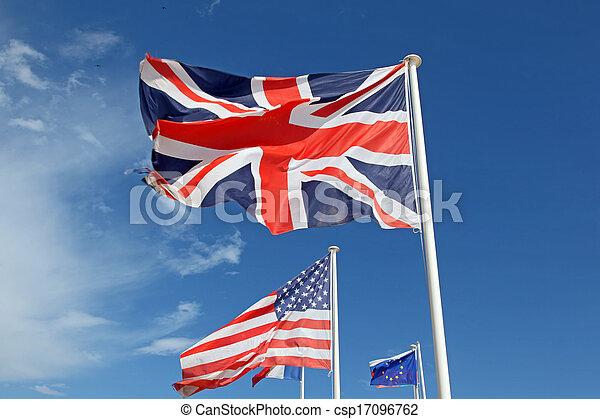 międzynarodowe bandery - csp17096762