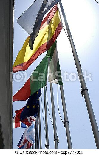 międzynarodowe bandery - csp7777055