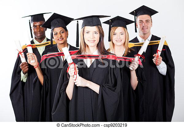 międzynarodowy, grupa, absolwenci - csp9203219