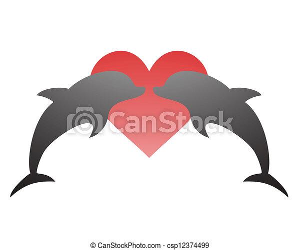 miłość, ładny - csp12374499