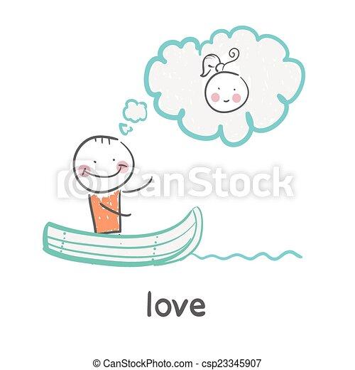 miłość - csp23345907