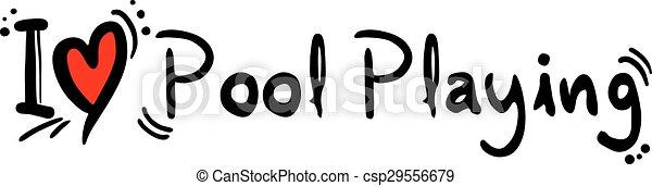 miłość, grająca kałuża - csp29556679