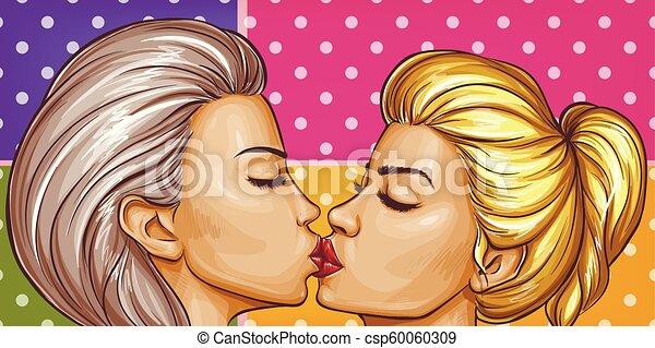 Lesbijka uwodzi kobietę