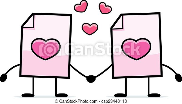 miłość, valentine - csp23448118
