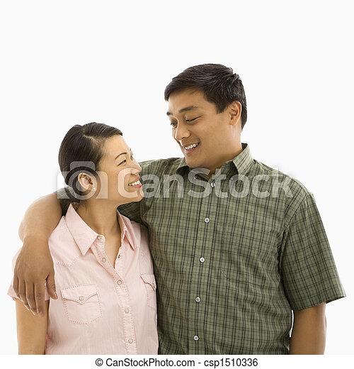 mi, couple., adulte, asiatique - csp1510336