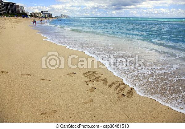 Miami Beach - csp36481510