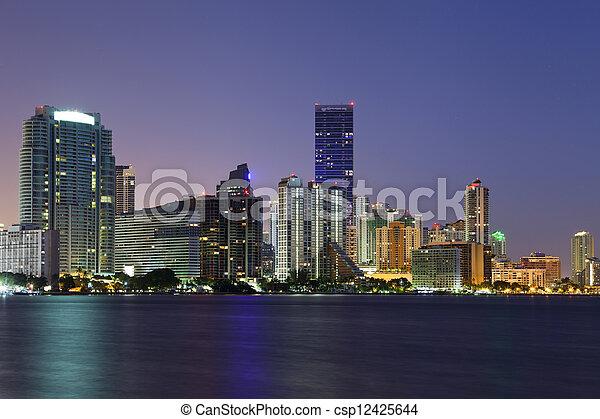 Miami. - csp12425644
