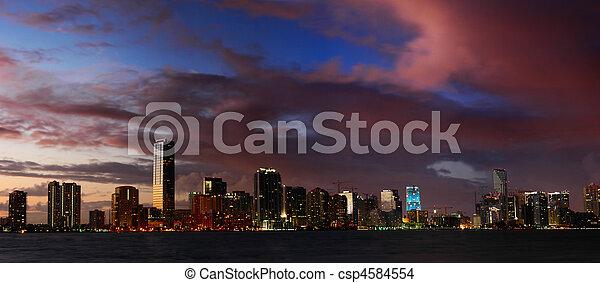 Miami Nights - csp4584554