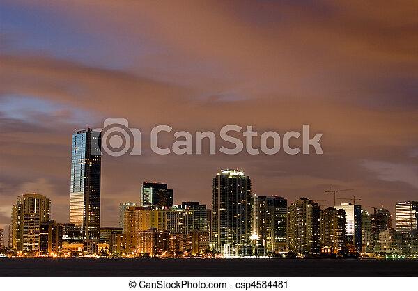 Las noches de Miami - csp4584481