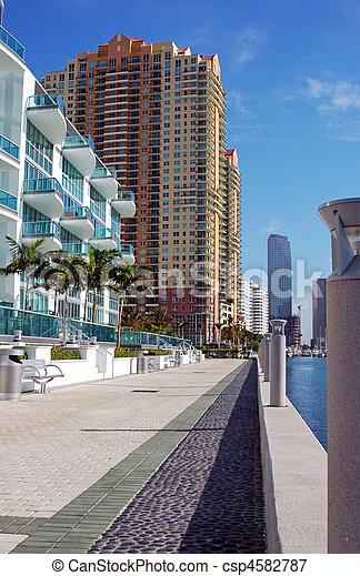 Miami Waterfront - csp4582787