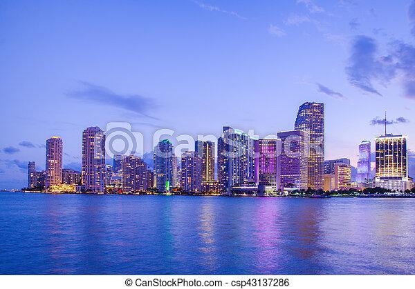 Miami - csp43137286