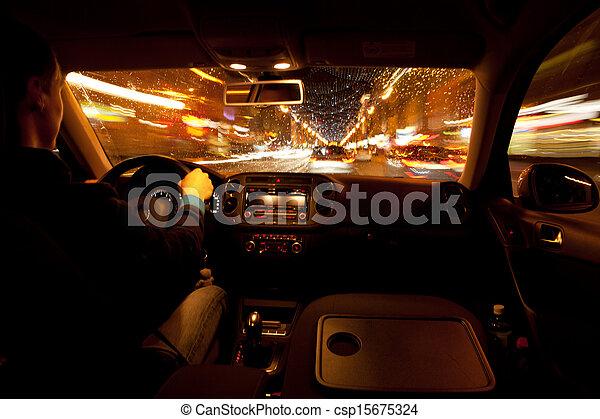 miasto, życie nocne - csp15675324