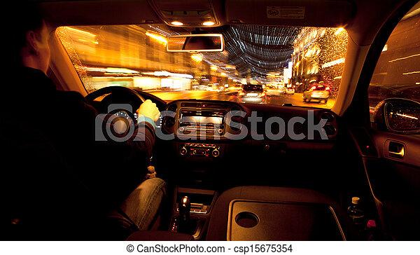 miasto, życie nocne - csp15675354