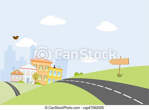 miasto droga - csp47062005