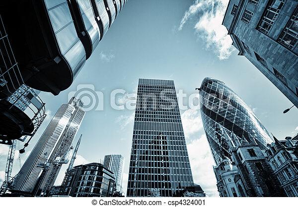 miasto, londyn - csp4324001