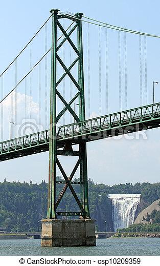 miasto, most - csp10209359