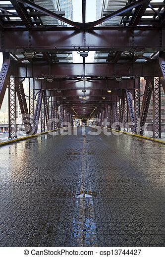miasto, most - csp13744427
