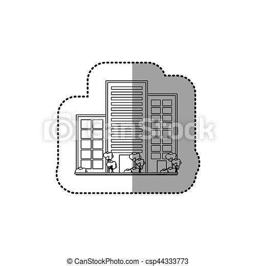 miasto, zabudowanie, miejski - csp44333773