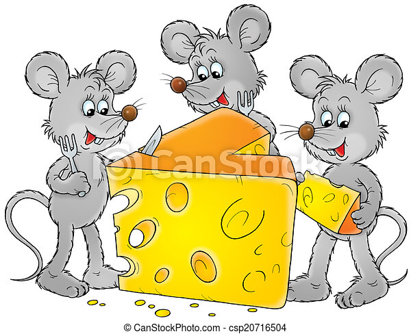 mice and cheese grey house mice eating cheese rh canstockphoto com nice clipart mice clipart