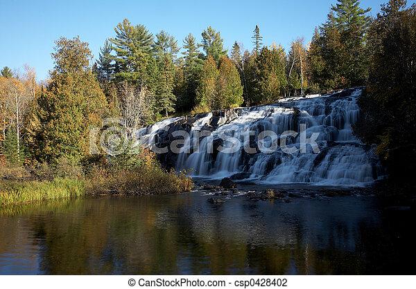Michigan Waterfall - csp0428402
