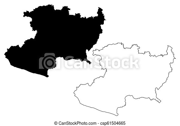 Michoacan State Map.Michoacan Map Michoacan United Mexican States Mexico Federal