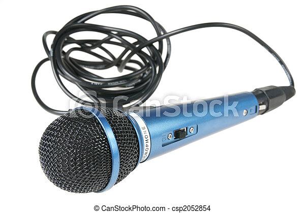 Micrófono - csp2052854