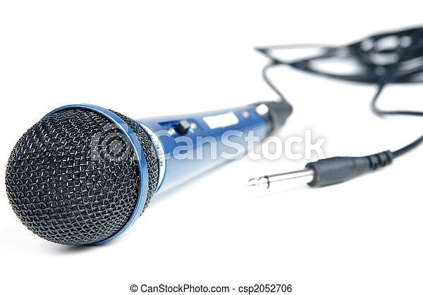Micrófono - csp2052706