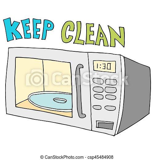 Micro ondes propre garder clean image micro ondes - Comment garder une vitre d insert propre ...
