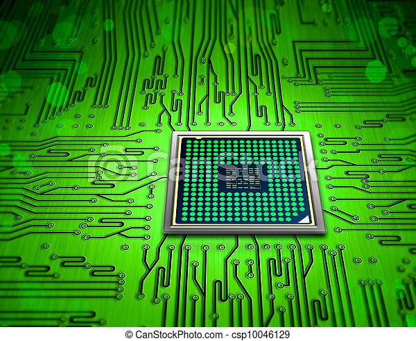 microchip, technologie - csp10046129