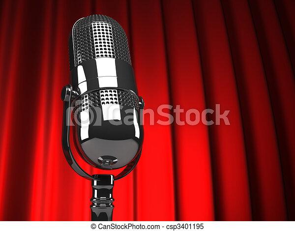 microfoon - csp3401195