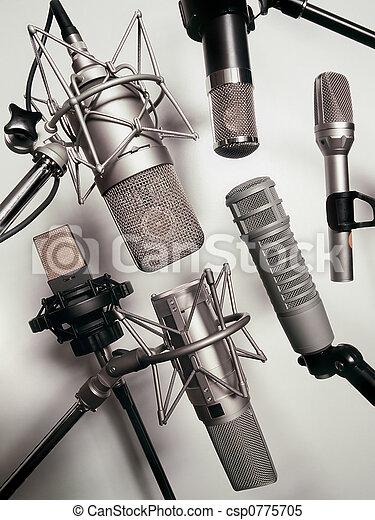 microfoons - csp0775705