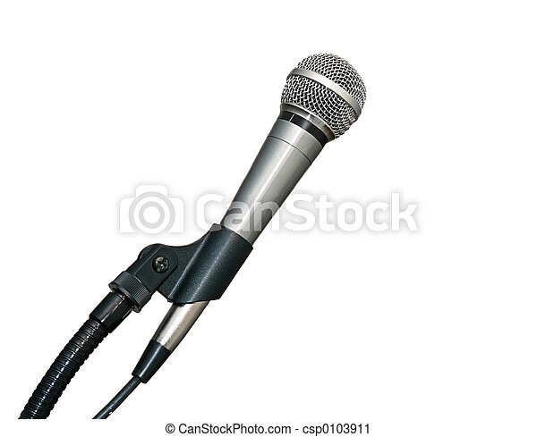 Microphone In Stand - csp0103911