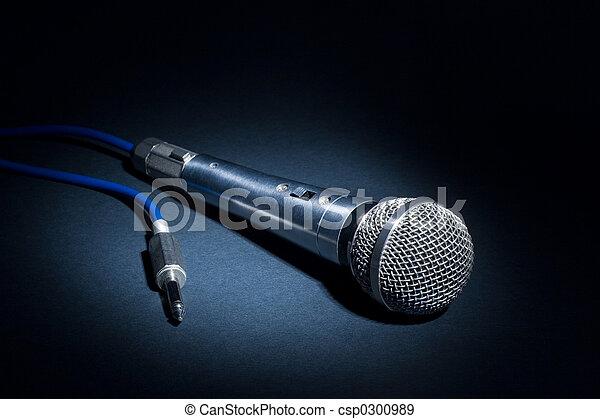 microphone, studio - csp0300989