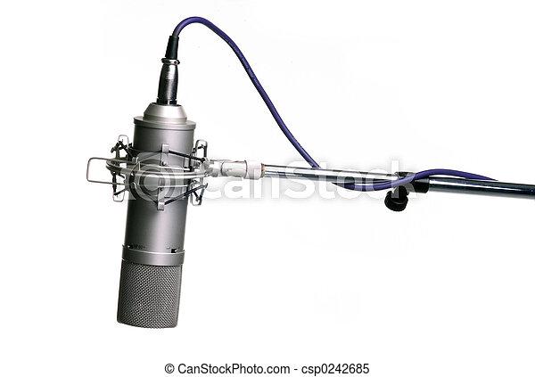 microphone, trépied - csp0242685