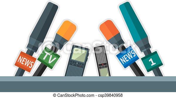 microphones - csp39840958
